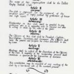 1969 Dallas RFC Constitution