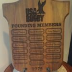 2010 Plaque in USA Rugby National Office