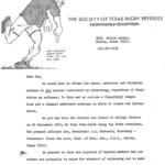 The Society of Texas Referee 1971
