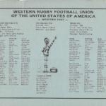 Western RFU Directory 1980