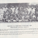 Western USA Territorial Champions - 1978 | Texas Rugby Football Union XV